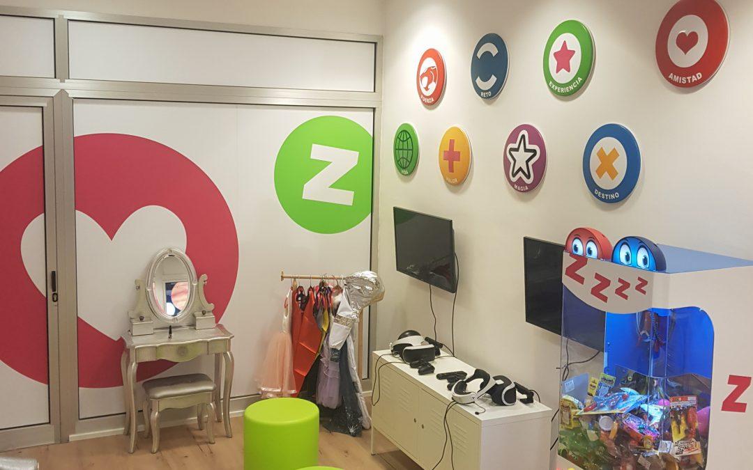 Nuestra nueva sala de juegos para vosotros.
